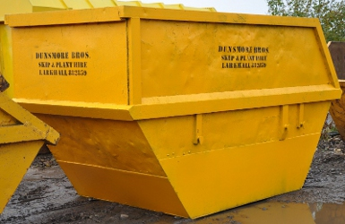 Large Skip - 16 Cubic Yard