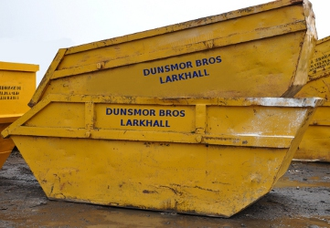 large skip 12 cubic yard